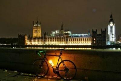 bike-light-and-water-bottle