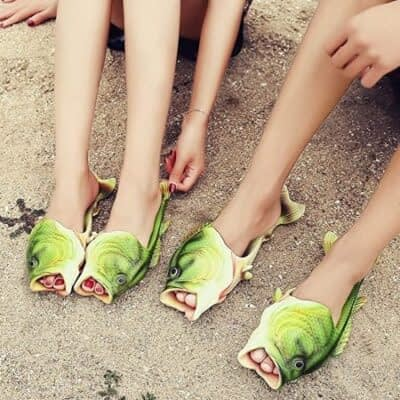 Creative Fish Slippers
