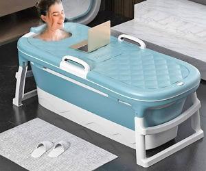 Portable Foldable Bathtub