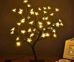 Cherry Blossom Bonsai Tree Light