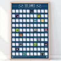 100-bucket-list-games-scratch-off-poster