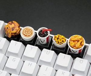 KFC Chicken Combo Keycaps