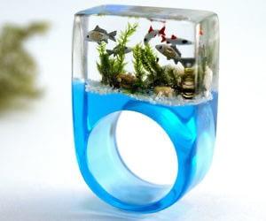 Miniature Aquarium Ring